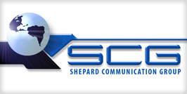 Shepard Communications Group Logo Design