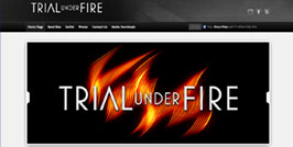 Trial Under Fire Website Design