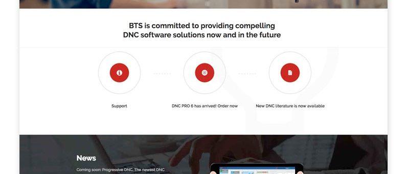 Berkshire Technology Solutions Website Design